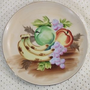 Vintage Handpainted TMJ Japan Decor Plate